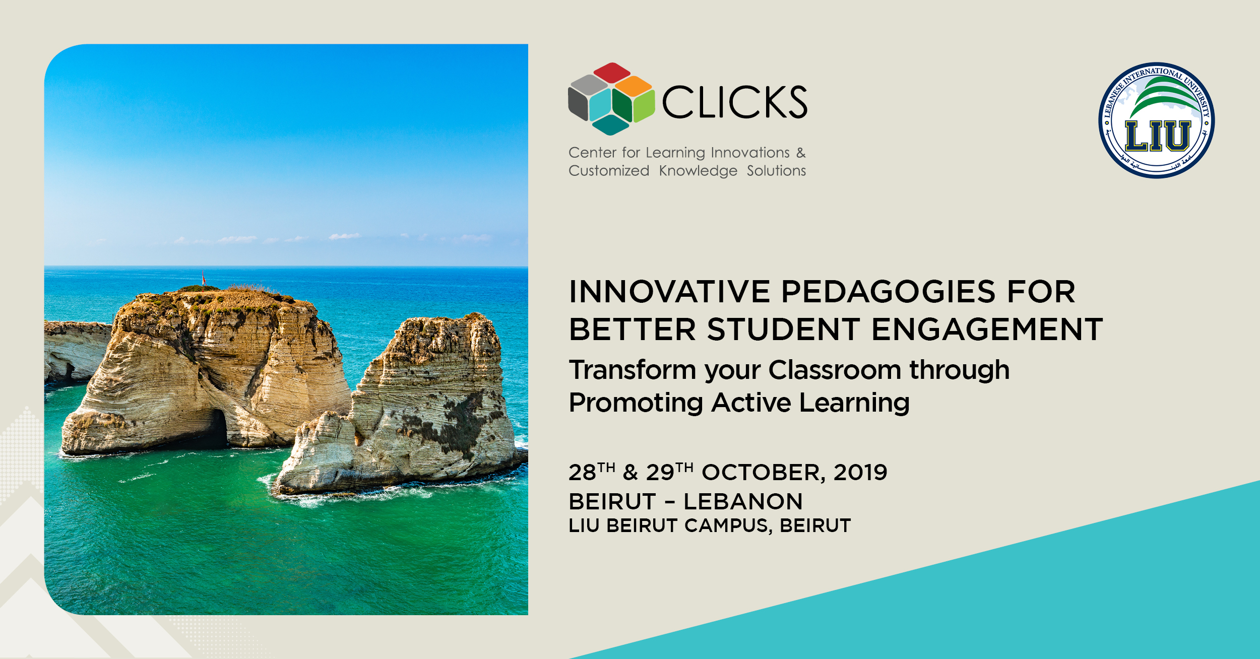 Clicks – Center for Learning Innovations & Customized Knowledge